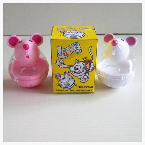 Cat Product - Mouse Shaped Giver Of Treats/Interactive Toy