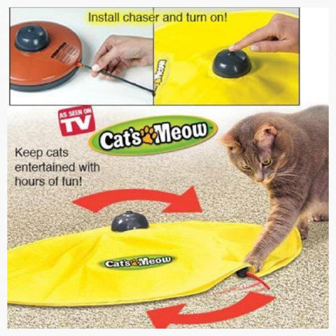 Cat Toys - Cat's Meow Phantom Mouse Chaser