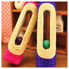 Cat Toys - Rolling Scratcher W/ Toy Balls