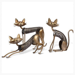Figurines & Miniatures - 3 Fine Felines