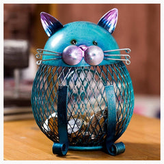 Figurines & Miniatures - Cat Piggybank
