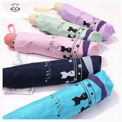 Folding Umbrella-4 Colors