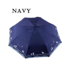 Folding Feline Umbrella-4 Colors