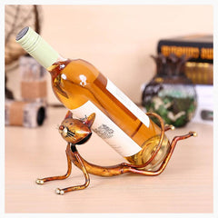 Home Decor - Cat Yoga Bottle Rest