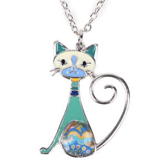 Funky Calico Necklace