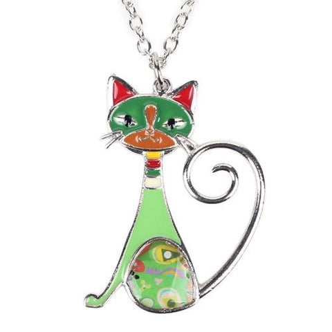 Jewelry - Calico Cat Necklace