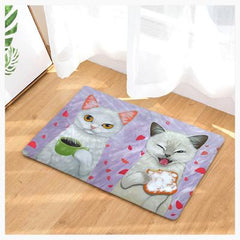 Cat Couple Doormats