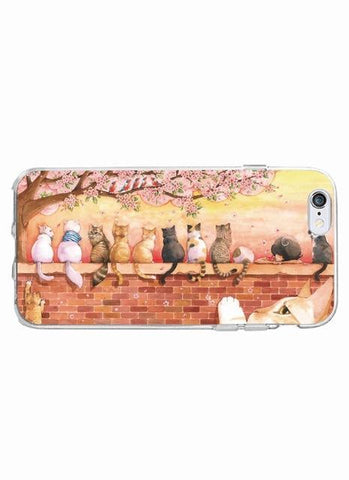 Phone Case - Artsy Fartsy Cat Phone Case