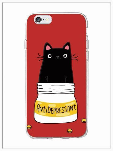 Phone Case - Feline Anti-Depressants! - **Ships FREE**