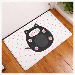 Whimsical Welcome Cat Mat