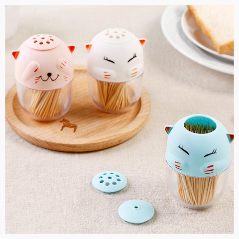 Salt Pigs, Cellars & Servers - Cute Cartoon Cat Shakers
