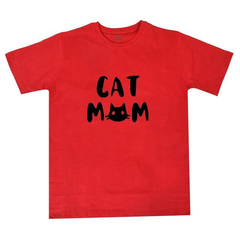 T-Shirts - Cat Mom T-Shirt