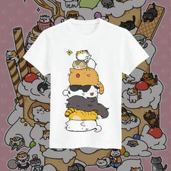Neko Atsume - Cat Collector T-shirt
