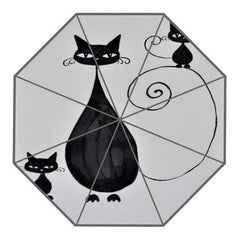 Cat Art on Umbrellas-9 Design Collection!