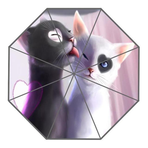 Umbrellas - Cat Art On Umbrellas-Collection