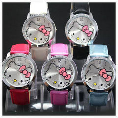 Watch - Hello Kitty Leather Band Watch