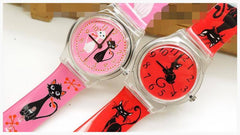 Watch - Whimsical Cat Watch