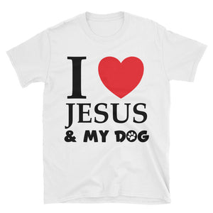 I Love Jesus & My Dog T-Shirt