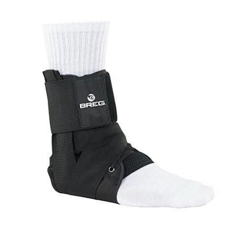 Breg Lace-Up Ankle Brace with Tibia Strap - thebracestore