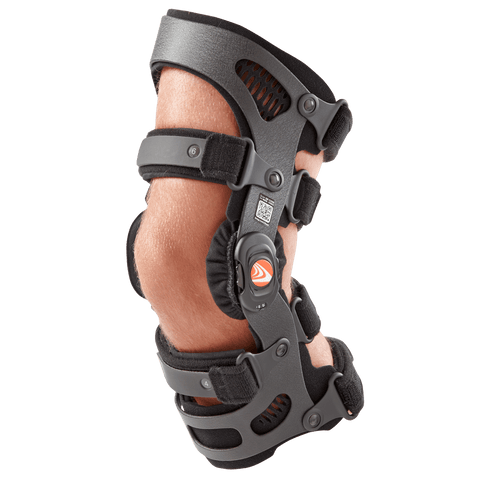 Breg Fusion Lateral OA Plus Knee Brace Side View- thebracestore