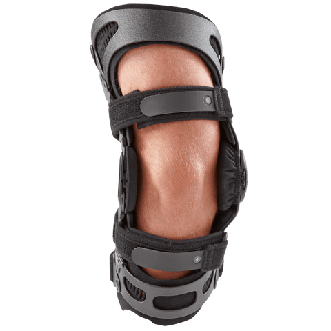 Breg Fusion Lateral OA Plus Knee Brace Front View- thebracestore