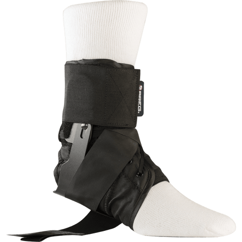 Breg Wraptor Ankle Brace with Speed Laces  Open - thebracestore