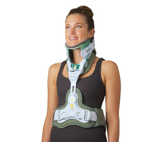 Aspen Vista CTO Cervical/Thoracic Back Support Front View - thebracestore