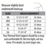 Swede-O Thermal Vent Knee Wrap