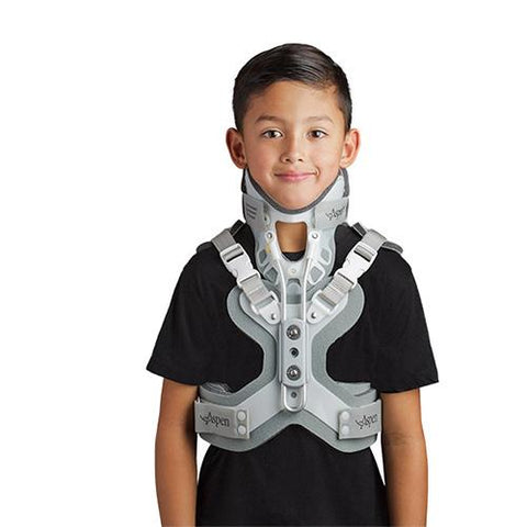 Aspen Pediatric CTO Neck Collar/Thoracic Back Brace - thebracestore