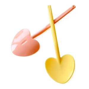 "3.5"" Heart-Shaped Mini Tasting Spoons: 1,800 pcs Per Box"