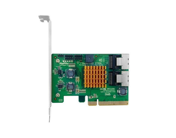 RocketRAID 2720A 8-Channel 6Gb/s SAS/SATA RAID Controller