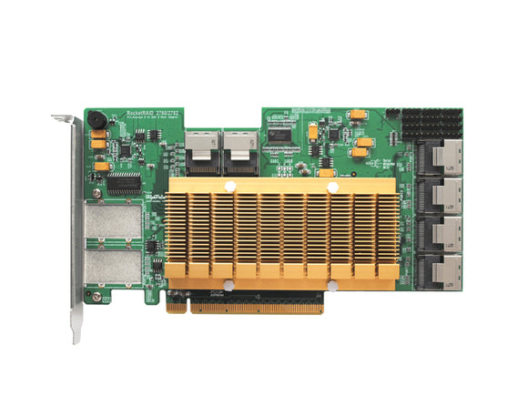 RocketRAID 2782 PCIe 2.0 32-Channel 6Gb/s SAS/SATA RAID Controller