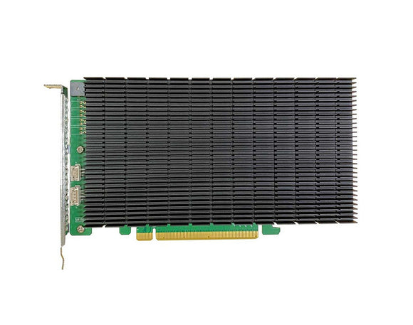 HighPoint SSD7104 – 4 Channel M.2 PCIe 3.0 x16 NVMe RAID Controller with Fan-less Cooling Solution