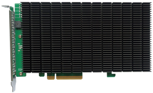 HighPoint Rocket 1204 4x M.2 PCIe Gen3 x8 NVMe Host Controller (Preorder: Ships 2nd week of April 2021)
