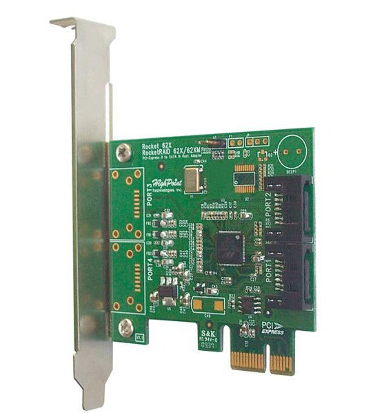Rocket 620B 2-Channel 6Gb/s SATA PCIe 2.0 Host Bus Adapter