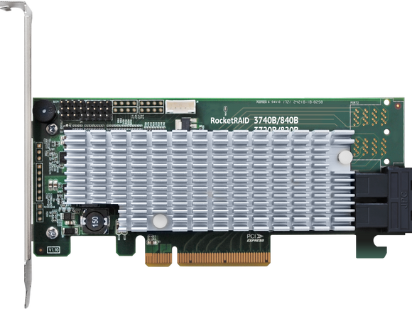 RocketRAID 3720A PCIe 3.0 x8 8-Channel 12Gb/s SAS RAID Controller (Presale)