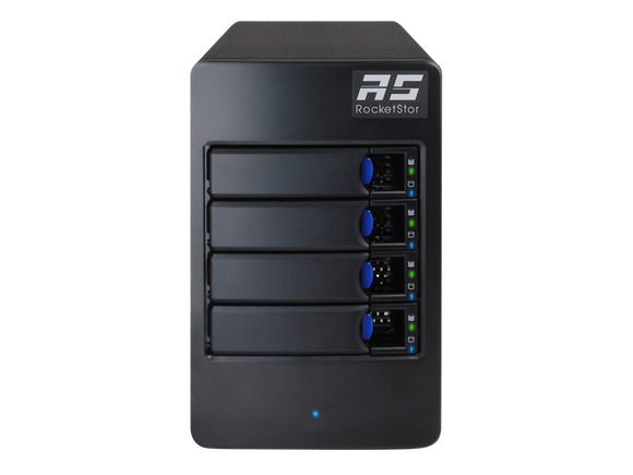 RocketStor 6114V 4-Bay RAID 5 USB 3.1 10Gb/s Storage Enclosure