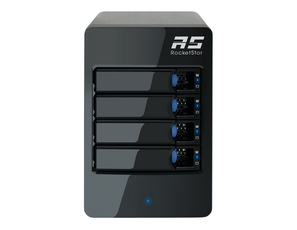 RocketStor 6314A - 4-Bay Thunderbolt™ 2 Hardware RAID Tower Enclosure