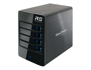 RocketStor 6314B 4-Bay Thunderbolt™ 2 to Thunderbolt™ 3 Hardware RAID Tower Enclosure (Ship from Asia WH)
