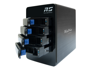 RocketStor 6314B-16T - Customizable 4-Bay 16TB Thunderbolt™ RAID Storage Solution