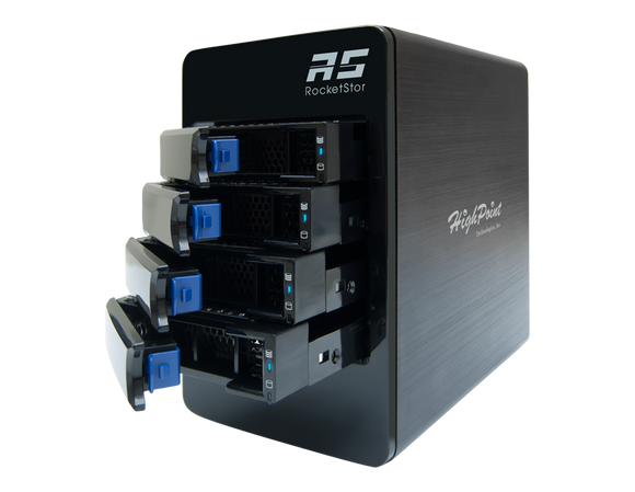 RocketStor 6314B-12T - Customizable 4-Bay 12TB Thunderbolt™ RAID Storage Solution
