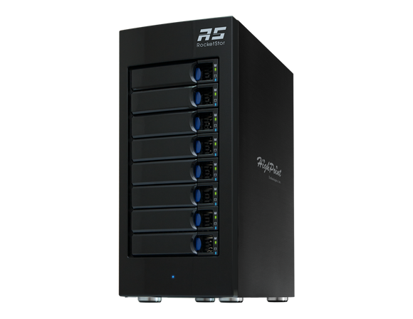 RocketStor 6418S 8-Bay SAS/SATA Storage Tower Enclosure