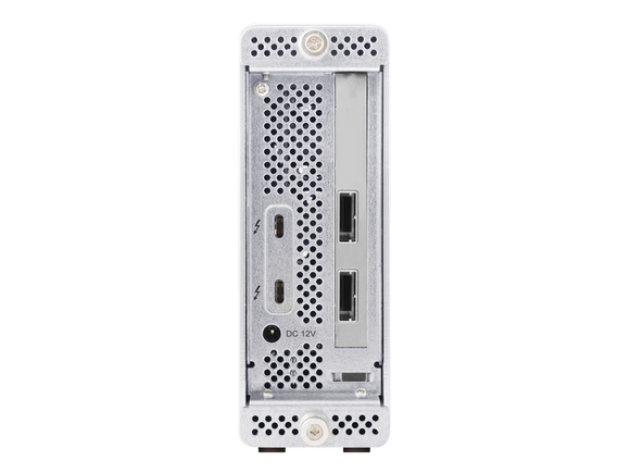 RocketStor 6661A-mSAS3 Thunderbolt™ 3 to 2x Mini-SAS Ports Hardware RAID Adapter (8x SAS/SATA Channels)