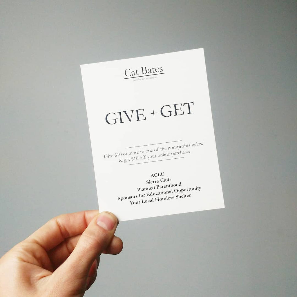 Give + Get
