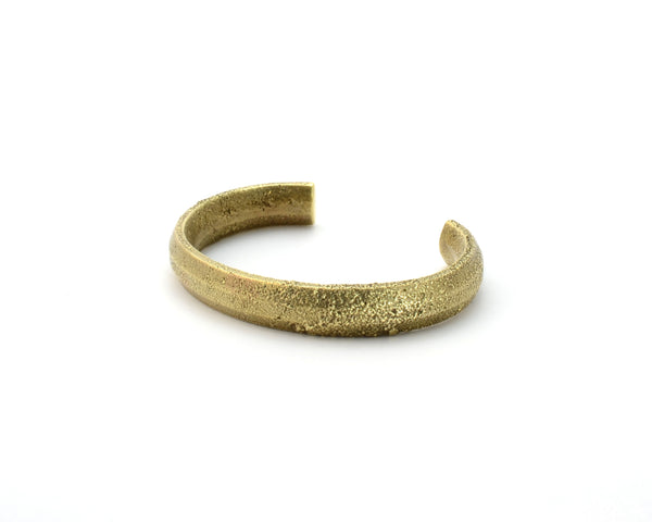 Thin Token Cuff, Brass
