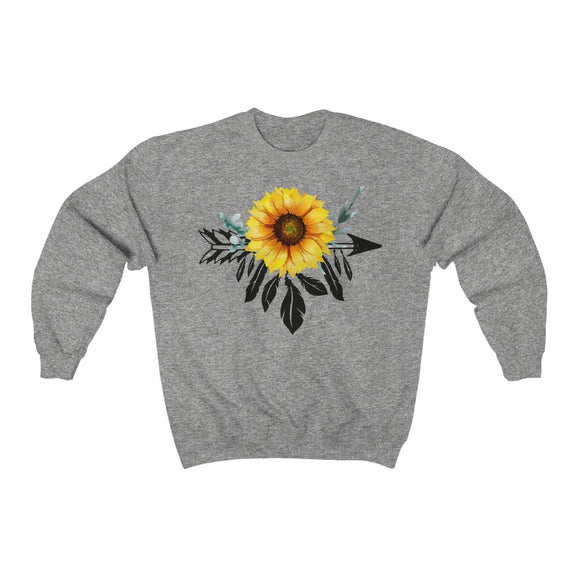 Boho Sunflower Sweatshirt
