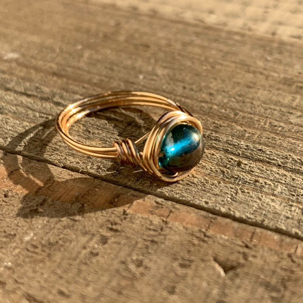 Wire Wrapped Ring - jewelry-by-meesh