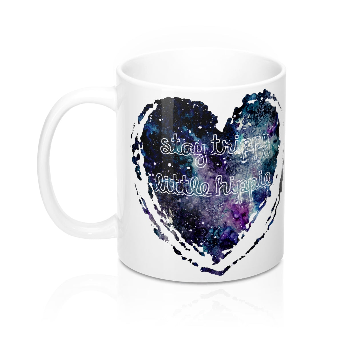 Stay Trippy Little Hippie Coffee Cup, Stay Trippy Little Hippie Mug, 11oz Coffee Cup, 11 oz Coffee Mug, Stay Trippy Little Hippie - jewelry-by-meesh