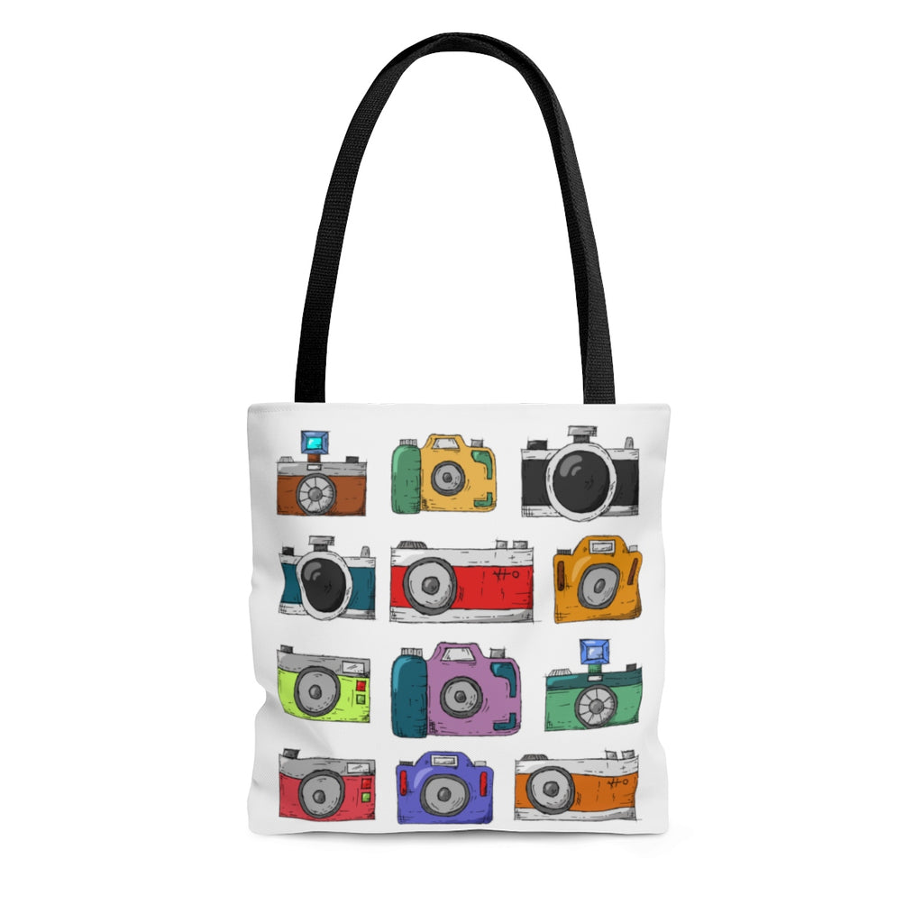 Camera Tote Bag, Camera Tote, Photographer Gift, Photography Bag, Photography Tote Bag, Tote Bag, Travel Bag, White Tote Bag, Camera Tote - jewelry-by-meesh