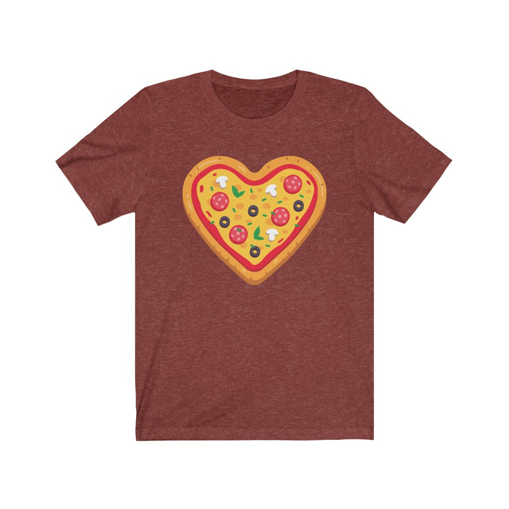 Pizza Heart Graphic Tee